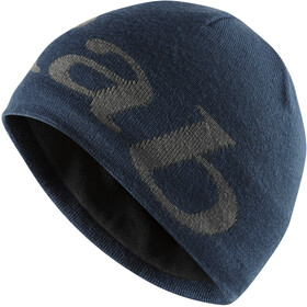 Rab Logo Beanie Men, deep ink